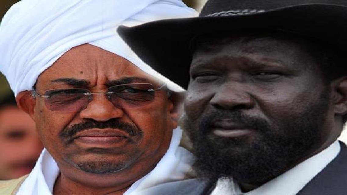 الرئيس السوداني عمر البشير ونظيره سلفا كير