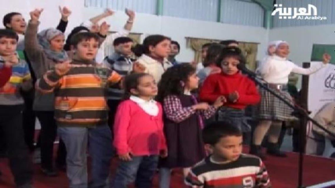 """مسرحية \\""""المنام\\"""" تروي أحداث الثورة السورية في عيون أطفالها"""