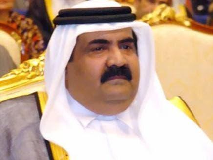 أمير قطر السابق الشيخ حمد بن خليفة آل ثاني