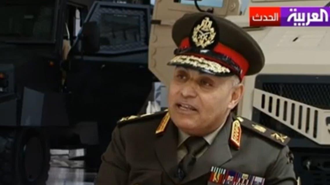 Major General Sedki Sobhi said Egypt today is going through a political struggle as a result of the revolution. (Al Arabiya)