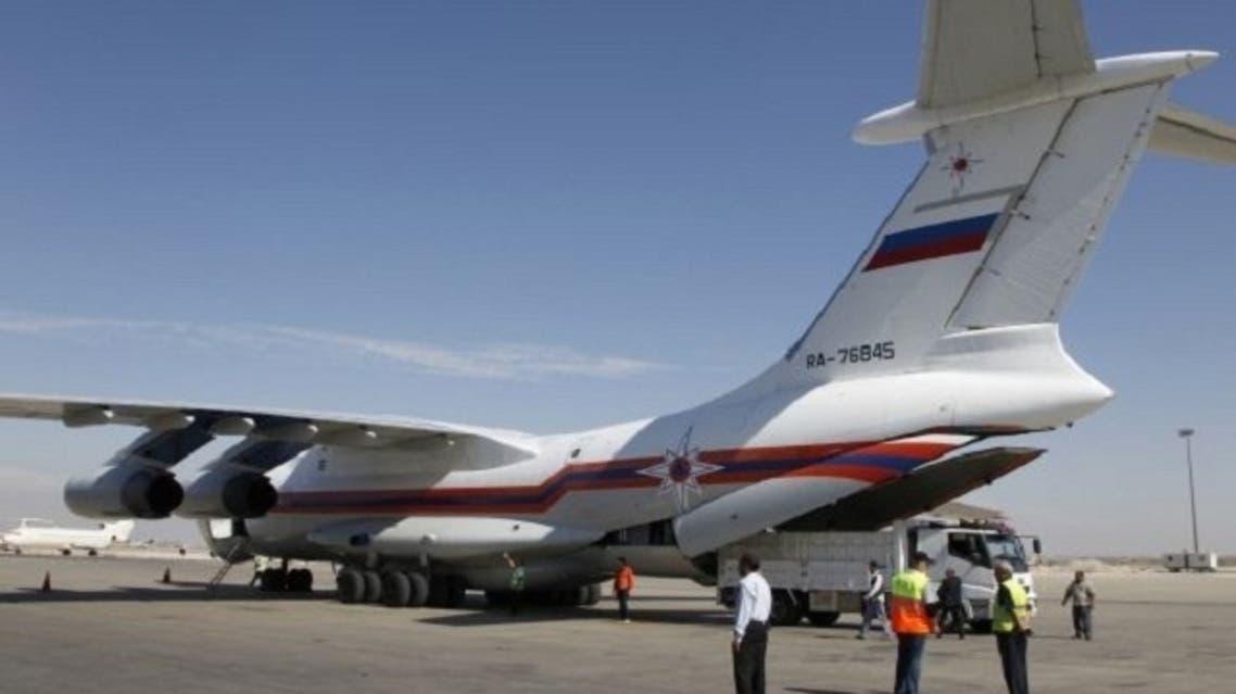 russian plane reuters