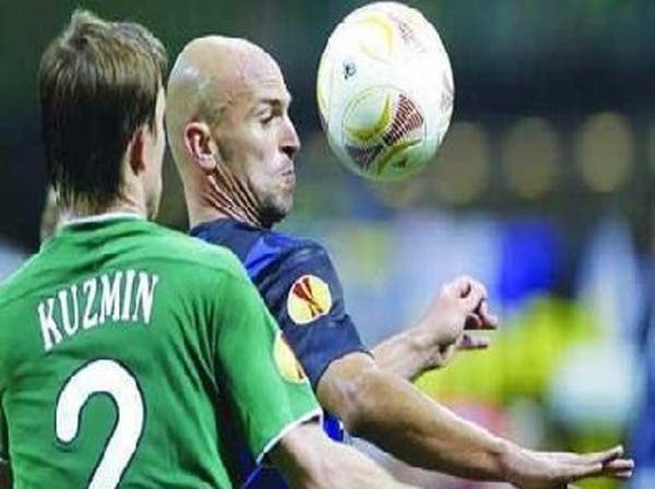 روبين كازان يسحق الإنتر في كأس الاتحاد الأوروبي