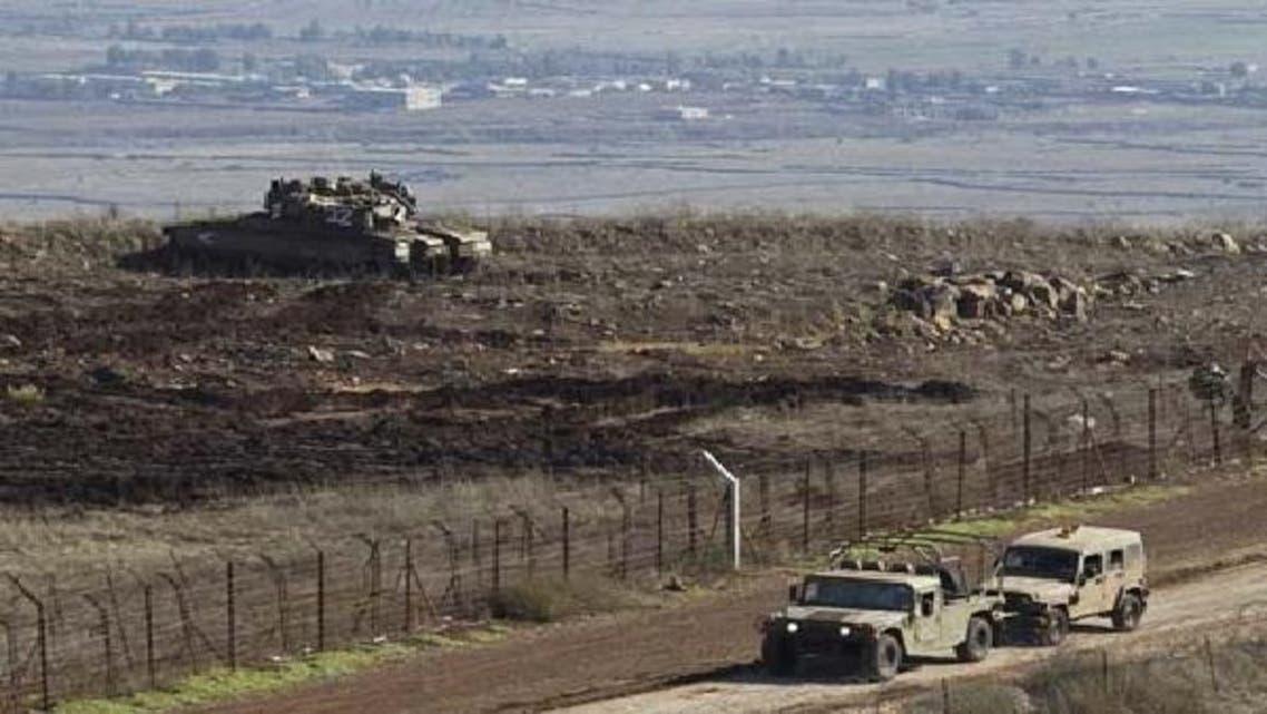 شام کے علاقے سے گولان کی پہاڑیوں پر ایک مرتبہ پھر فائرنگ