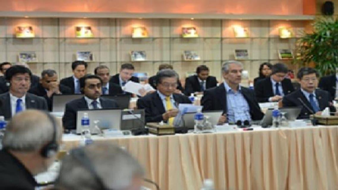 جانب من اجتماع اللجان المشتركة في الاتحاد الآسيوي