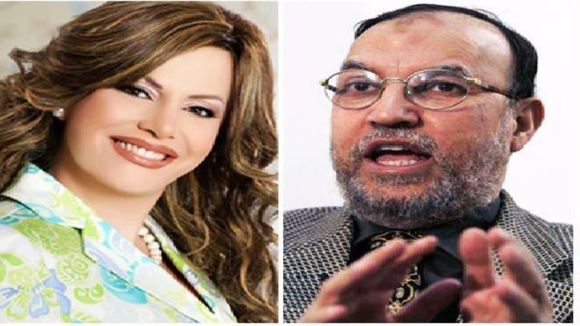 عصام العريان والإعلامية جيهان منصور