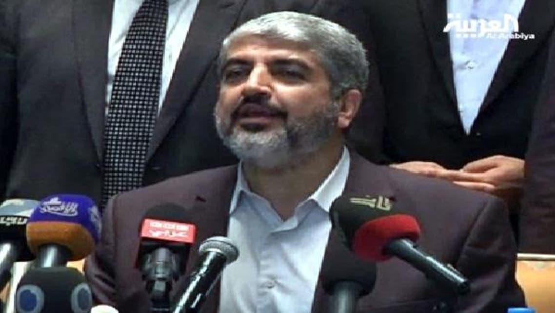 عرب ممالک فلسطینیوں کی عسکری امداد کریں: خالد مشعل