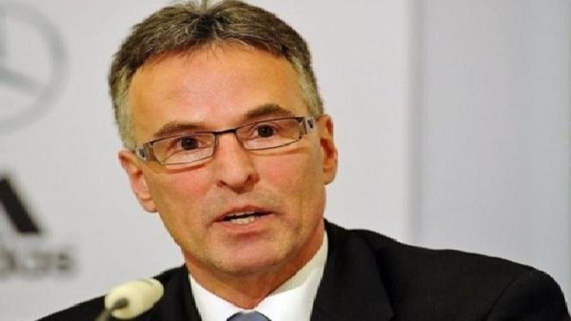 أمين عام الاتحاد الألماني لكرة القدم  هيلموت ساندروك