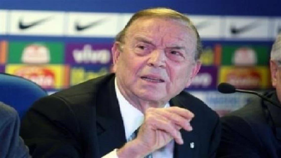 رئيس الاتحاد البرازيلي لكرة القدم جوزيه ماريا مارين