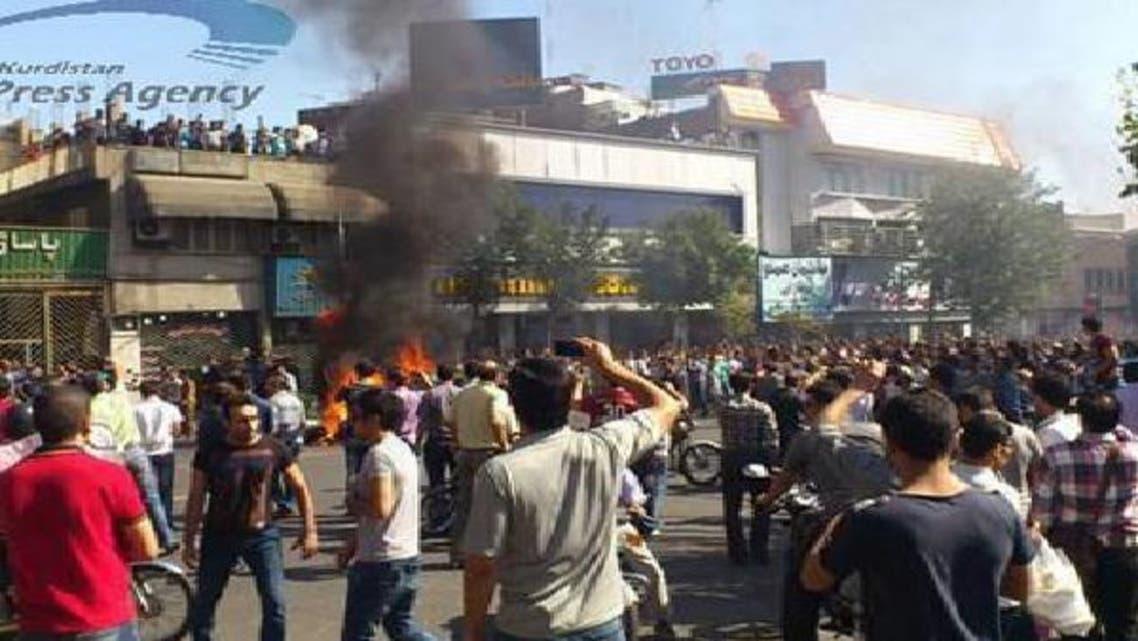 الأزمة الاقتصادية تشكل ضغوطاً هائلة على المواطنين في إيران