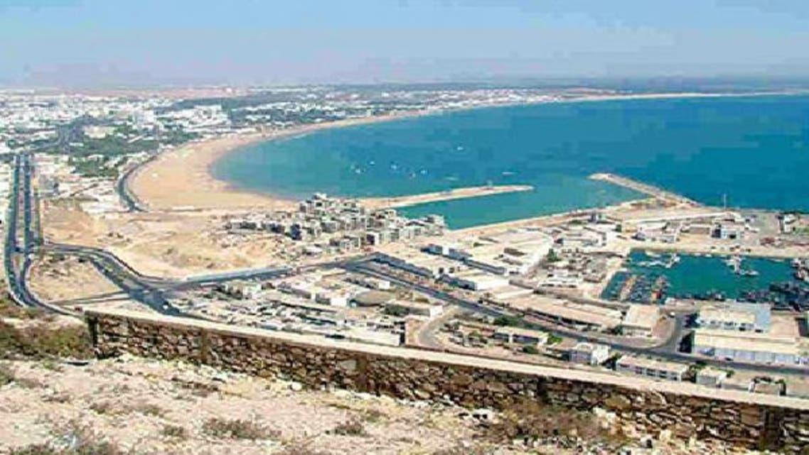 جانب من مدينة أغادير التي يعرف قطاع العقار فيها نمواً كبيراً