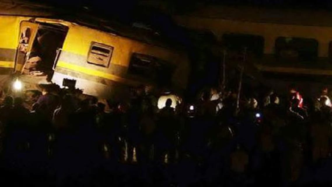 The security source said the collision was probably caused by human error, when a railway employee failed to reverse the signals, leaving the two trains on the same track. (File Reuters)