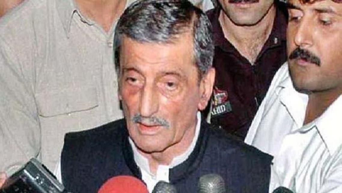 وزیر ریلوے حاجی غلام احمد بلور
