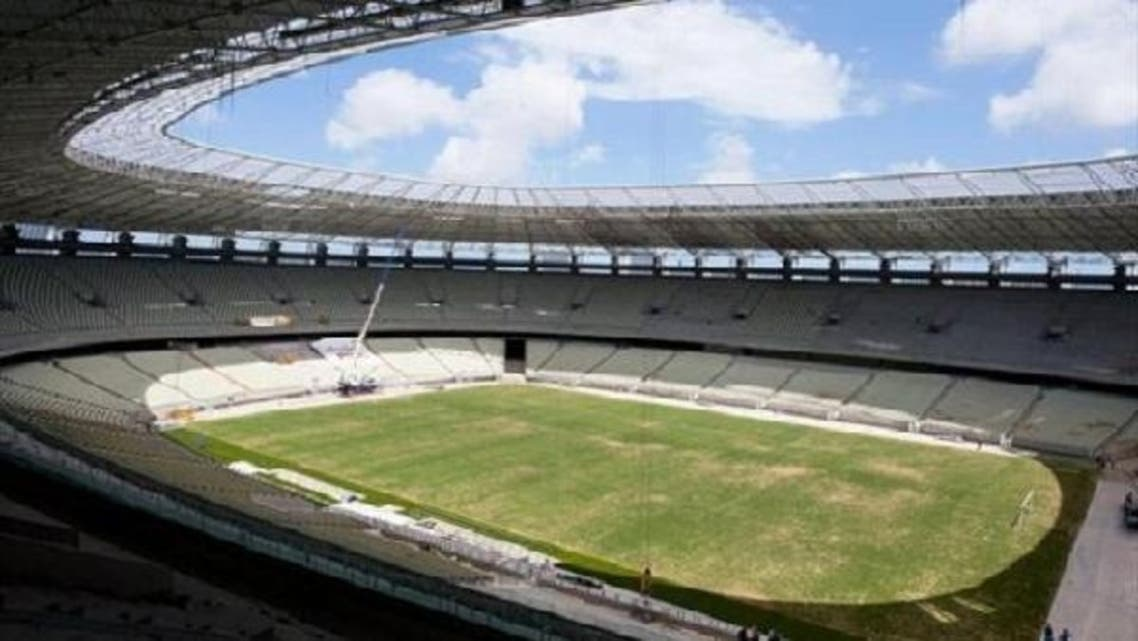 The Castelao Arena in the northeastern Brazilian city of Fortaleza. (AFP)