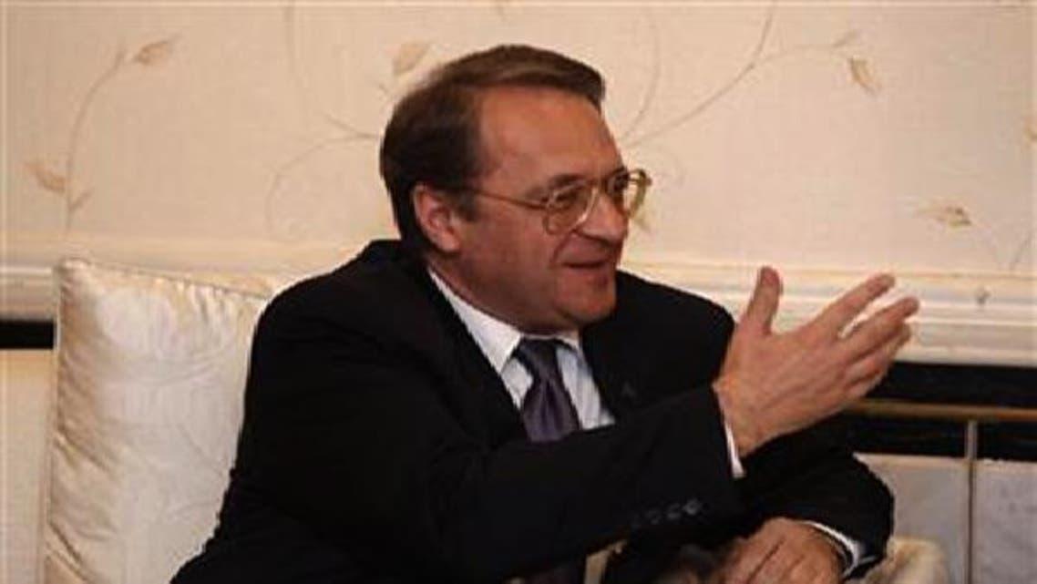 میخائل بوگدانوف کے بیان سے ظاہر ہے کہ روس اب شام سے متعلق اپنے موقف پر نظرثانی کر رہا ہے