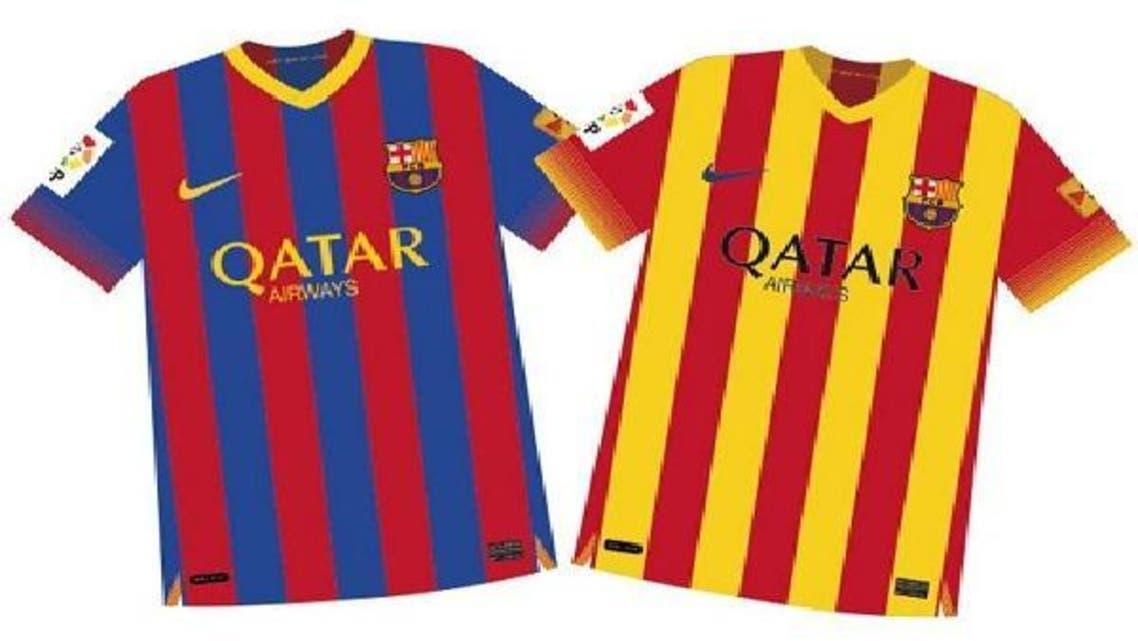 برشلونة يعود إلى جذوره بقميص جديد