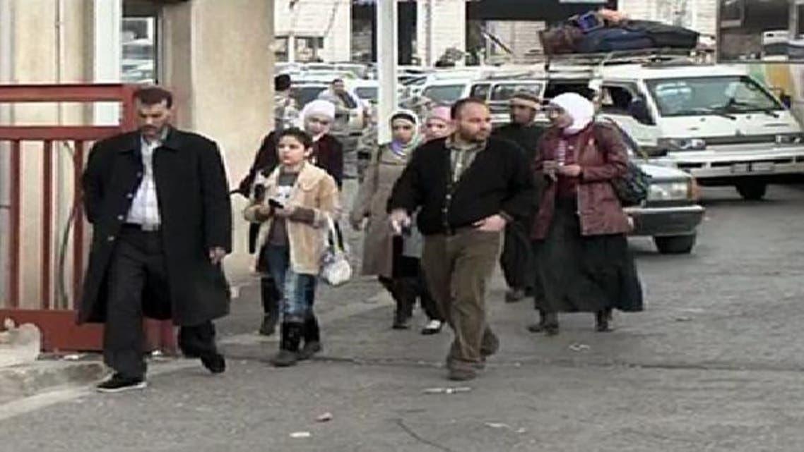 تصادم کے بعد شامی فوج نے شدید گولا باری کی