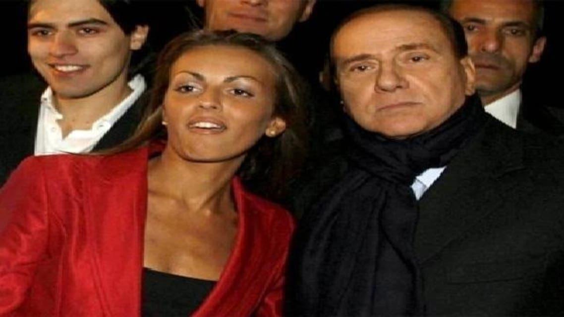 سلویو برلسکونی اور ان کی تیسری اہلیہ فرانسیسکا پاسکل