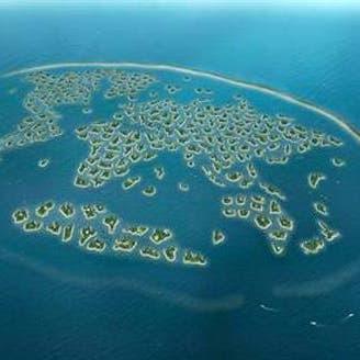 دبي تشيّد 3 جزر عائمة في مشروع شاطئي جديد