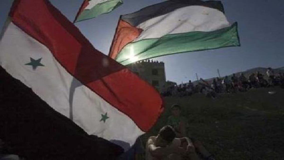 فلسطینی مہاجرین کا یرموک کیمپ دارالحکومت دمشق کے جنوب میں واقع ہے۔