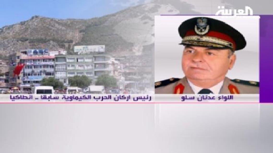 شامی فوج کے منحرف میجر جنرل عندنان سلو