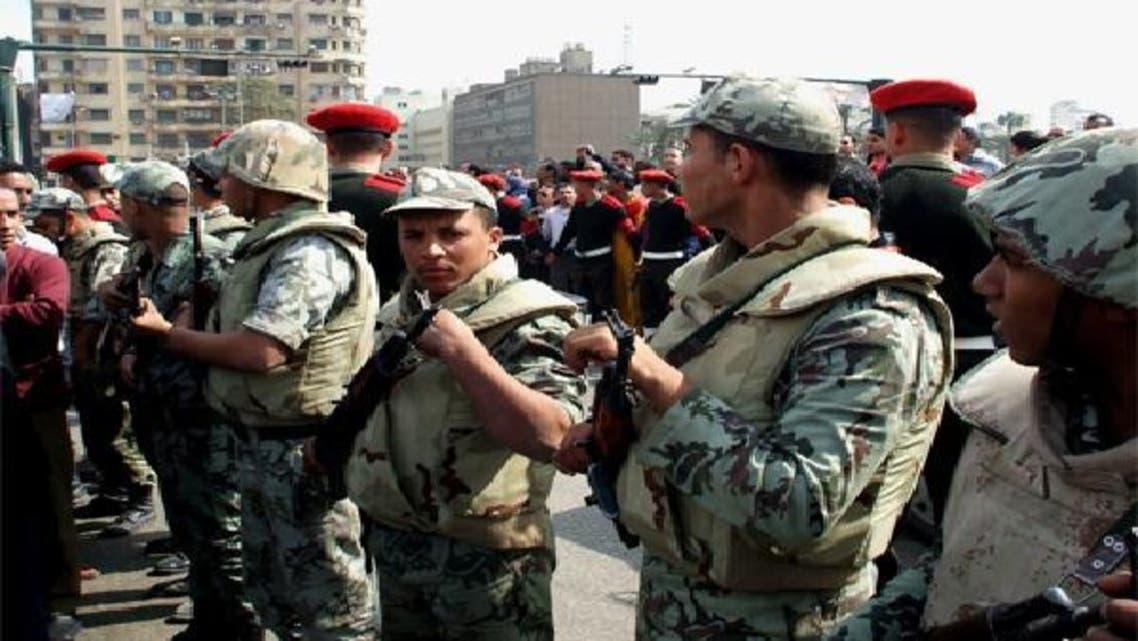 عناصر من الجيش المصري