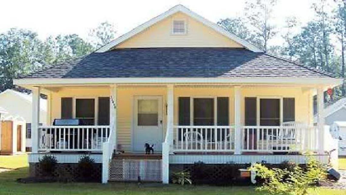 احد البيوت التي بنتها ارامكو لمتضرري اعصار كاترينا في امريكا
