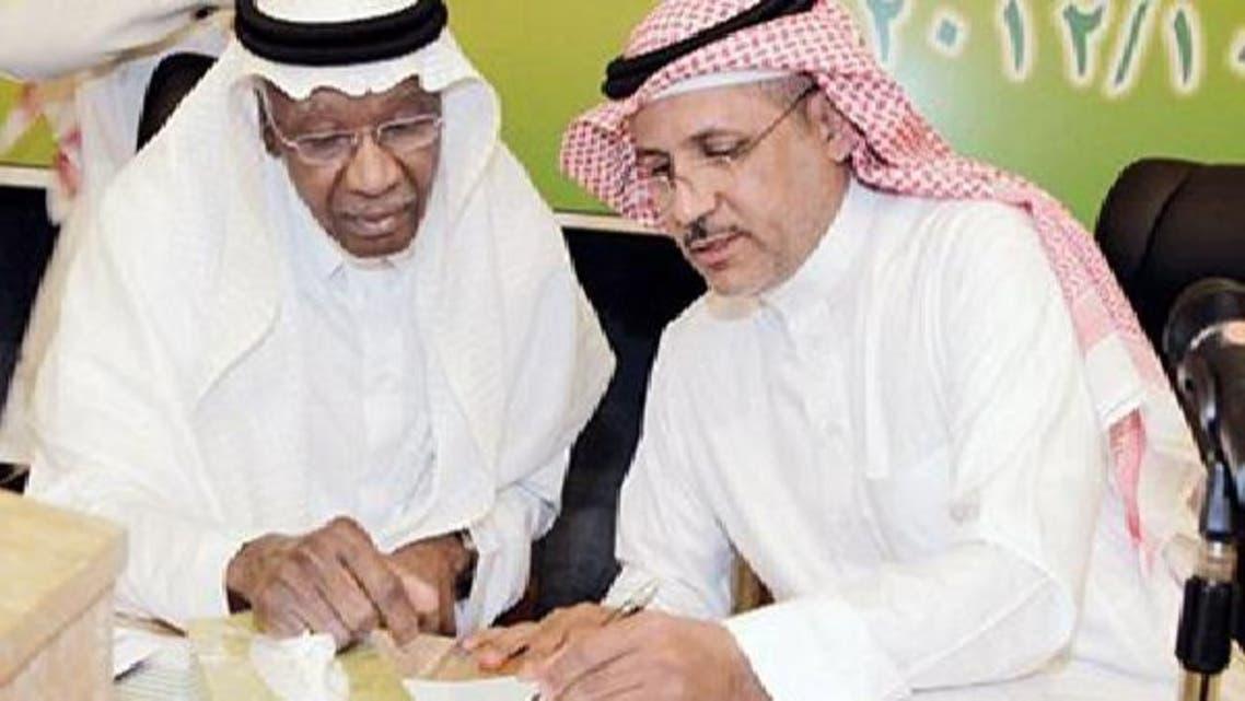 """خالد المعمر \\""""يميناً\\"""" وأحمد عيد المرشحان الوحيدان لمنصب رئيس الاتحاد السعودي"""