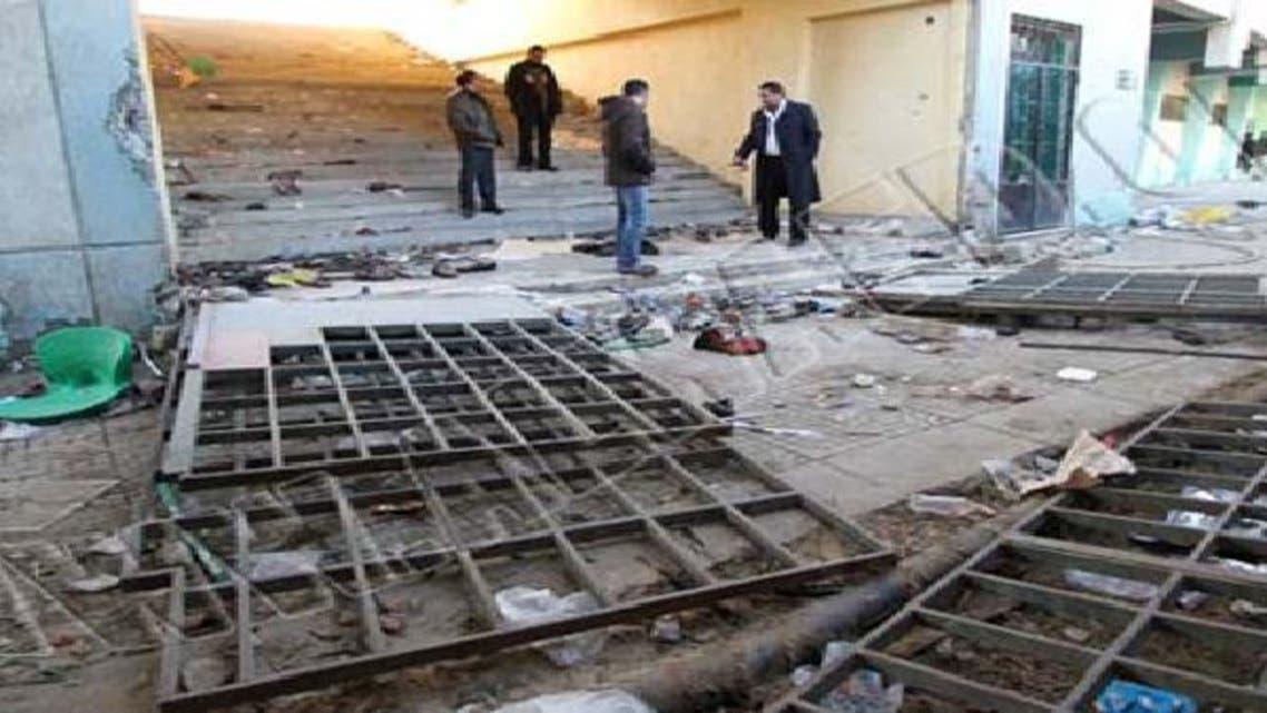 استاد بورسعيد بعد الأحداث