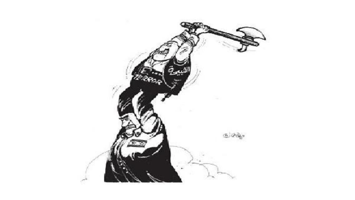 من صفحة كاريكاتير الثورة السورية