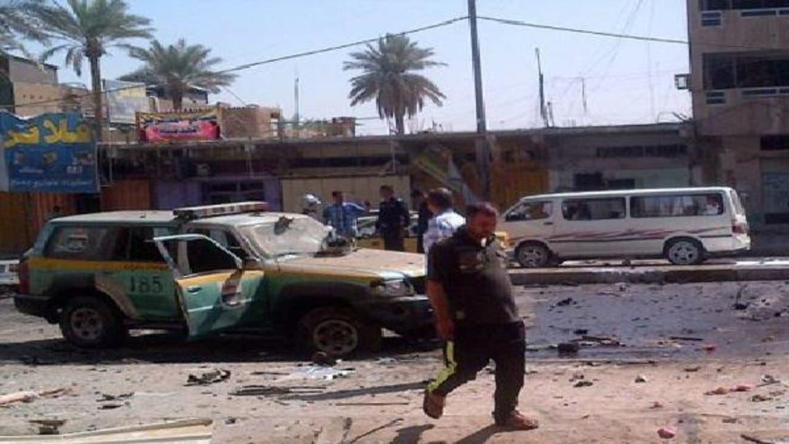 """تفجيرات سابقة في بغداد \\""""أرشيفية\\"""""""