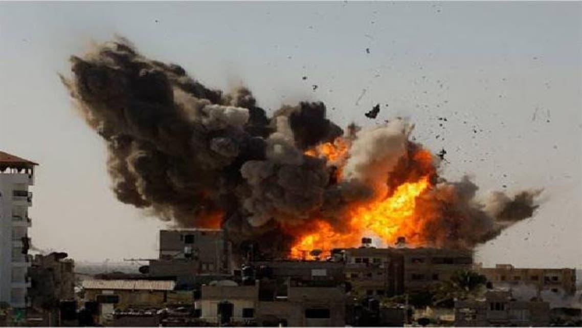 قصف إسرائيلي على شمال قطاع غزة