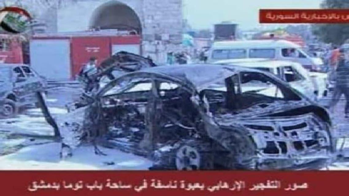 دمشق کے قدیم حصے میں کاربم دھماکا،13 افراد ہلاک