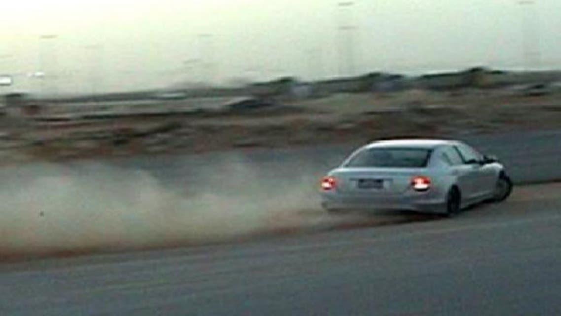 """شرطة الرياض تكشف تفاصيل القبض على \\""""المفحط\\"""" جهيمان"""