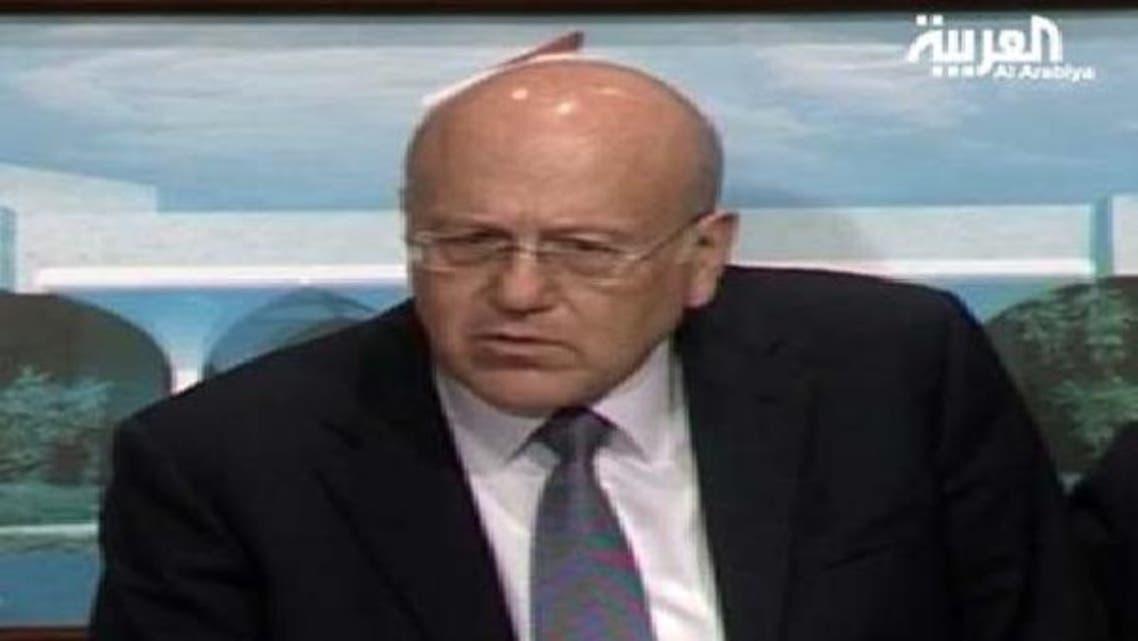 لبنانی وزیر اعظم نجیب میقاتی کا کہنا ہے کہ انھیں صدر مشعل سلیمان نے فی الوقت کام جاری رکھنے کی ہدایت کی ہے