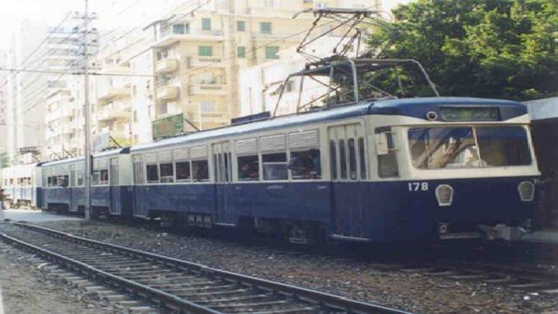 الترام ضمن وسائل النقل داخل المدن في مصر