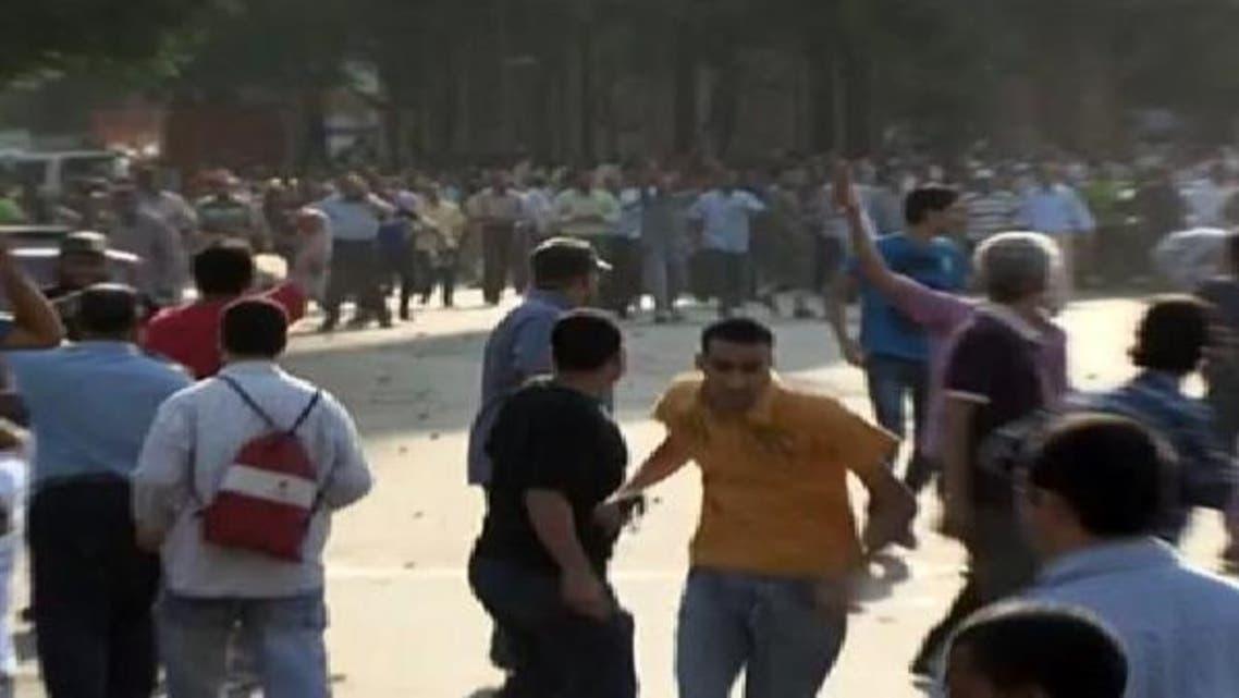 """بلاغ يتهم مرسي بالشروع في قتل متظاهري \\""""يوم الحساب\\"""""""