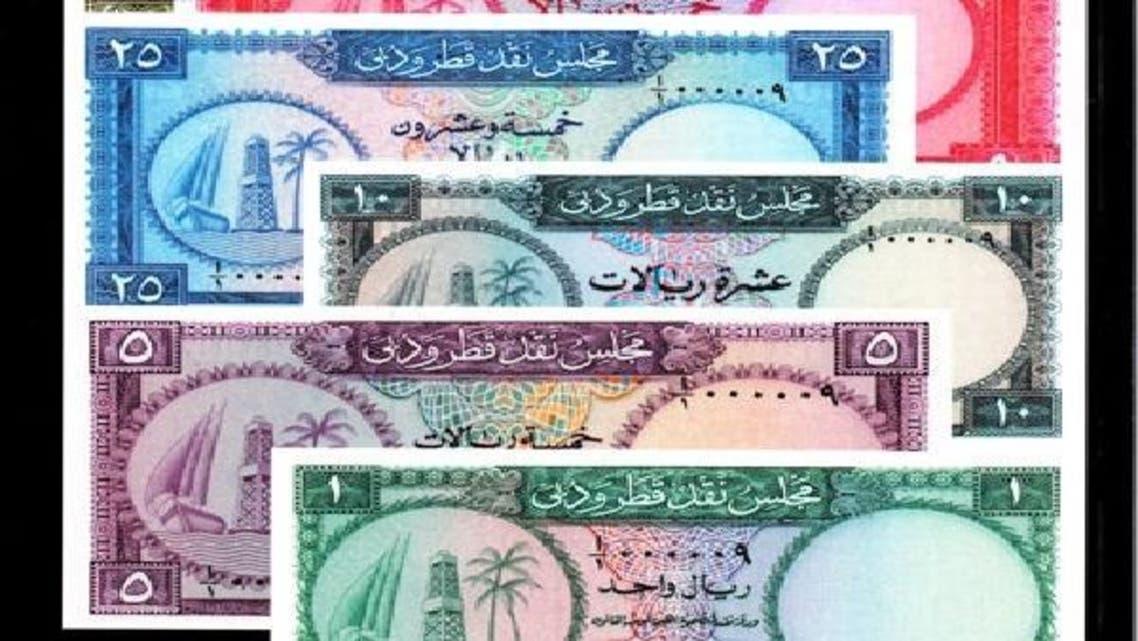 بینک دولت دبئی اور قطر کے جاری کردہ کرنسی نوٹ