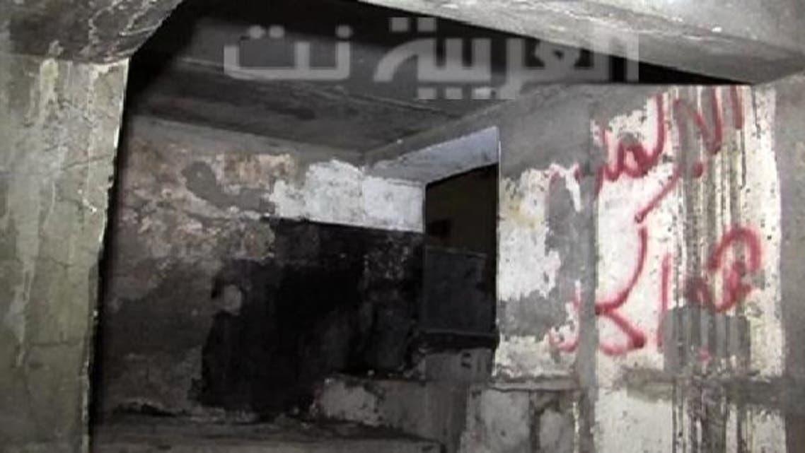 مسجد کے نیچے بم ساز سرنگ