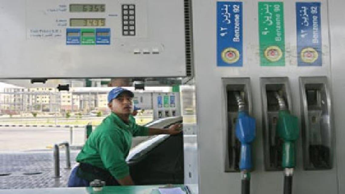 محطة وقود في مصر