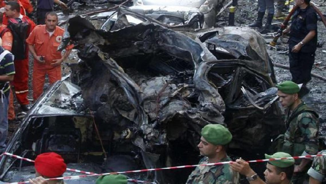 French Foreign Minister Laurent Fabius said that the Syrian regime was probably involved in Beirut car bombing that killed internal security chief General Wissam al-Hassan. (Reuters)