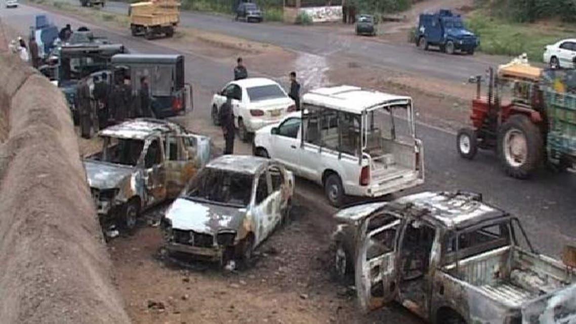 پشاور: چیک پوسٹ پر حملہ، ایس پی سمیت سات اہلکار جاں بحق