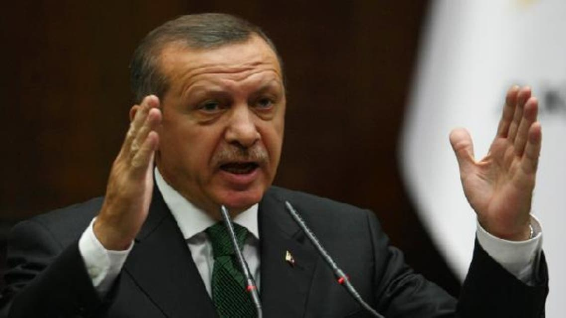 """Turkish Prime Minister Recep Tayyip Erdogan said the cargo was """"equipment and ammunition shipped to the Syrian Defense Ministry"""" from a Russian military supplier. (AFP)"""