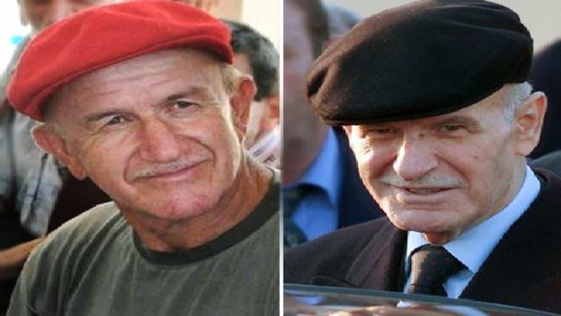 دائیں: حافظ الاسد اور بائیں جانب ان کا ہم شکل ترک شہری