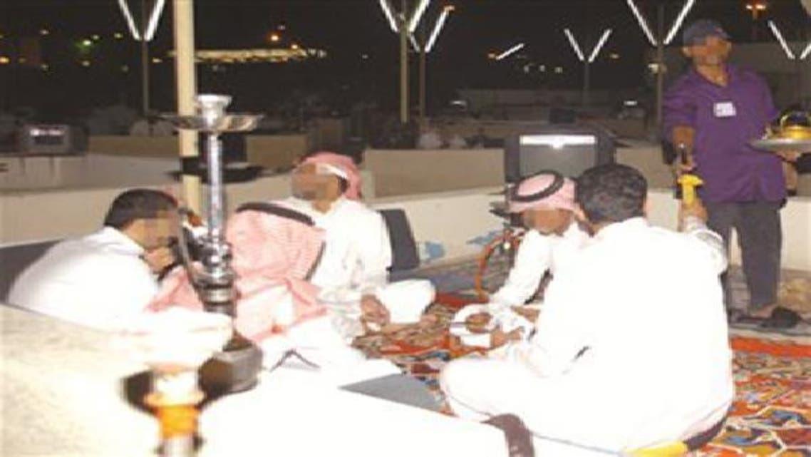 أحد مقاهي مدينة جدة السعودية