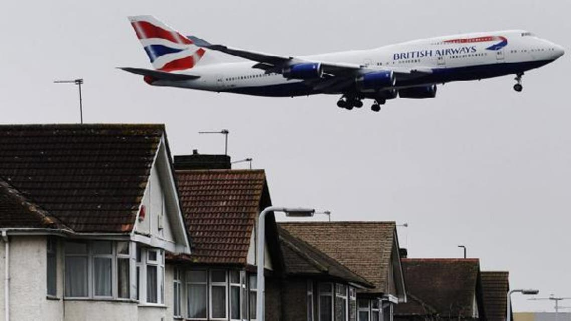 An aircraft comes into land at Heathrow Airport in London February 13, 2012. (Reuters)