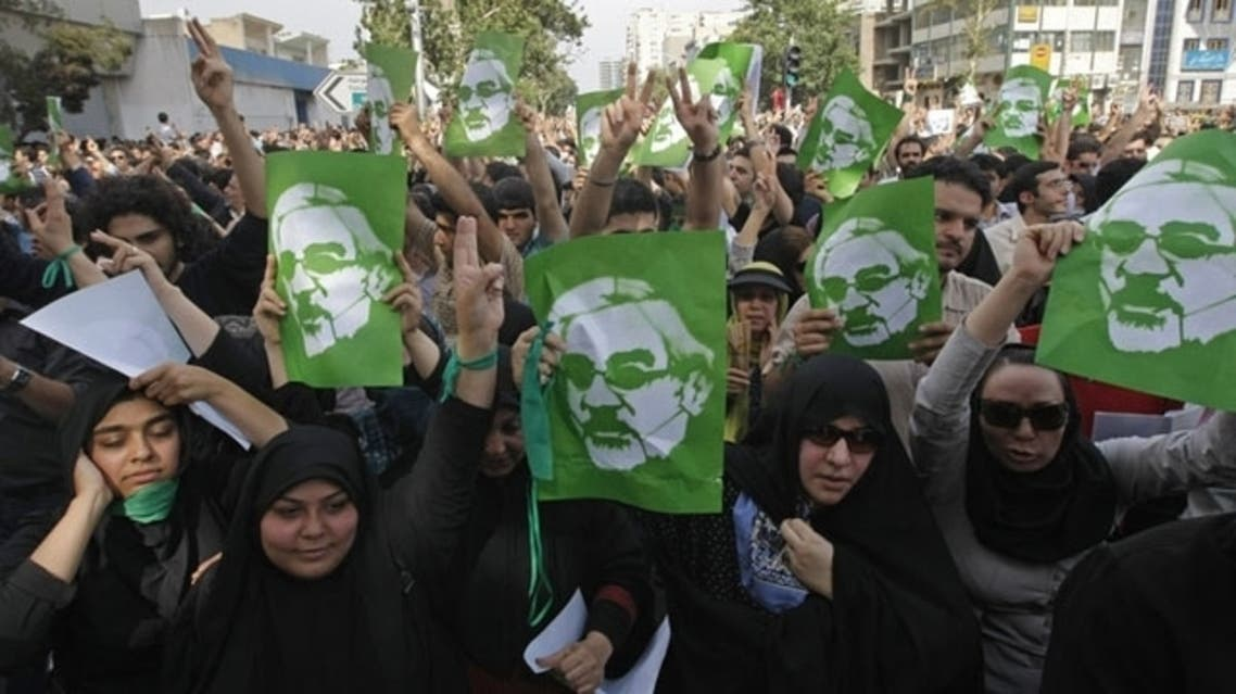 Iran's leading opposition figure Mirhossein Mousavi stood in presidential elections in 2009 and was a figurehead of the big street protests over allegations of vote rigging that followed. (AFP)
