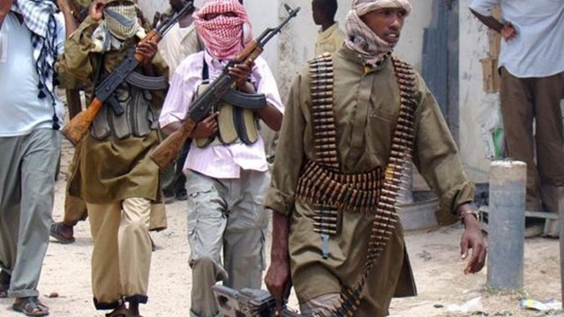 """A message from Twitter on the English-language @HSMPress account read that the account of Somalia's Al-Qaeda-linked Shabab group had """"been suspended,"""" without elaborating. (AFP)"""