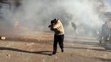 الأمن يطلق قنابل الغاز لتفرقة اشتباكات بالإسكندرية