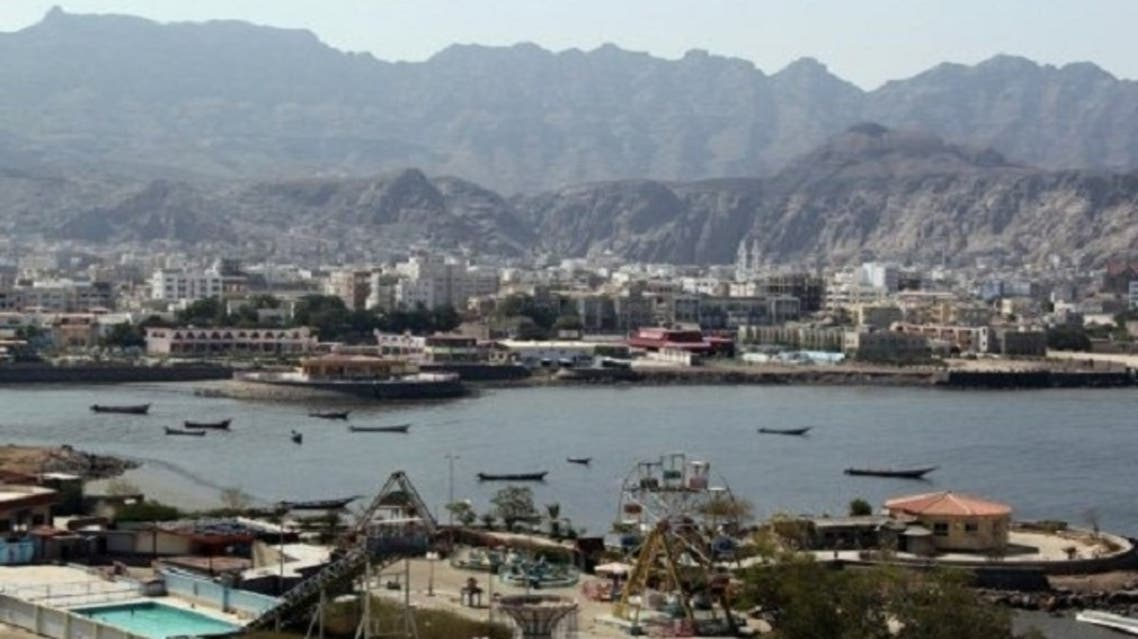 yemen aden port AFP