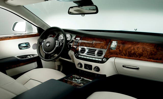 The Ibn Firnas model is part of the 'Rolls-Royce Ghost Firnas Motif' collection. (Courtesy of Drive Arabia News & Views)